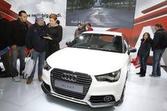 A1 Audi saloon at Bologna  Royalty Free Stock Photography