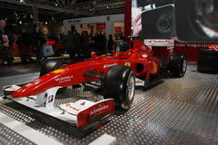 Ferrari racing car Stock Photography
