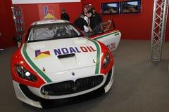 Maserati racer in Bologna Motor Show Stock Image