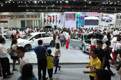 Motor Show in Bangkok Stock Photography