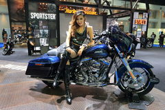 Motor show 2016 Stock Photography