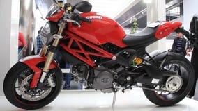 Motor show. Dukati Stock Image