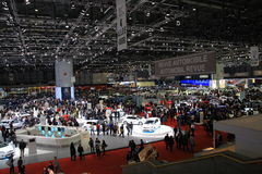 Motor Show Geneve Stock Photos