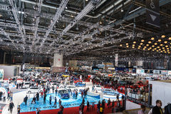 Motor Show Geneve 2015 Royalty Free Stock Images