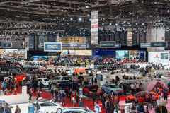 Motor Show Geneve 2015 Stock Images