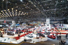 Motor Show Geneve 2015 Royalty Free Stock Photography