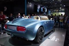 Motor Show. Paris, France - October 10, 2014: The Mini Superleggera Vision by mini is presented during the Mondial de l'Automobile, Paris Motor Show Stock Image