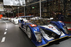 Peugeot racing car Royalty Free Stock Photos