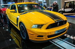 Motor Show Poznan 2014 Royalty Free Stock Photos