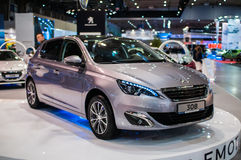 Motor Show Poznan 2014 Stock Images