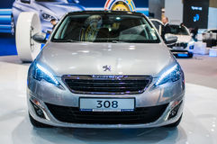 Motor Show Poznan 2014 Stock Photography