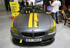 Motor som trimmar BMW Cabrio Royaltyfri Foto