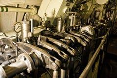 Motor submarino foto de stock