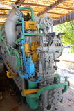 Motor submarino viejo Fotos de archivo libres de regalías