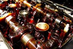 Motor sujo Imagem de Stock Royalty Free