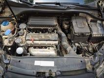 Motor sujo fotografia de stock