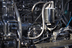 Motor tractor Royalty Free Stock Photography