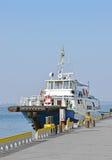 Motor travel ship Royalty Free Stock Photos