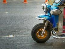 Motor tricycle  tuk tuk Royalty Free Stock Photo