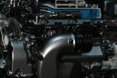 Motor turbo Fotografia de Stock