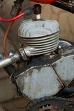 Motor two-stroke do russo idoso Fotos de Stock Royalty Free