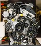 Motor V12 DOHC (BMW N73) av Rollset Royce Royaltyfria Bilder