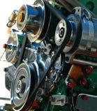 Motor van de Boot van de Staart van Thailand de Lange bij Volmacht. royalty-vrije stock afbeeldingen