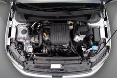 Motor van een auto royalty-vrije stock afbeeldingen