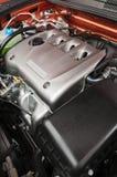 Motor van een auto stock fotografie