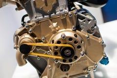 Motor van een auto Royalty-vrije Stock Foto's
