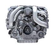Motor van een auto royalty-vrije illustratie