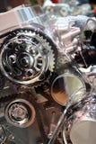 Motor van een auto Stock Foto