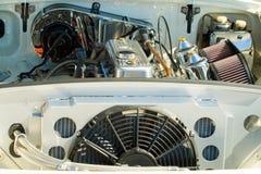 Uitstekend motor van een autodetail Royalty-vrije Stock Foto's