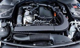 Motor van een auto stock foto's