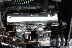 Motor van een auto. Royalty-vrije Stock Afbeelding