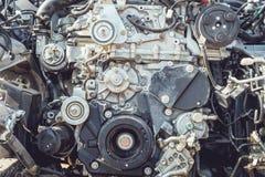 Motor van een autodeel Royalty-vrije Stock Foto