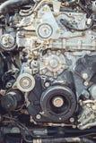 Motor van een autodeel Stock Afbeelding