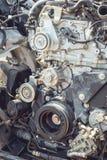 Motor van een autodeel Royalty-vrije Stock Afbeeldingen