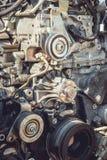 Motor van een autodeel Stock Afbeeldingen