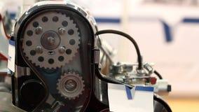 Motor van een autotoestellen stock footage