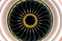 Motor van luchtbus Stock Afbeeldingen