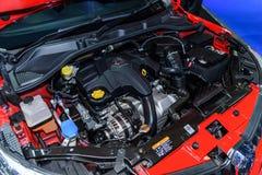 Motor van MG5 auto Royalty-vrije Stock Afbeelding