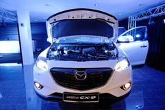 Motor van onlangs gelanceerd Mazda CX-9 in Singapore Stock Afbeeldingen