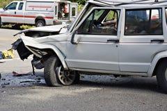 Motor vehicle accident stock photos