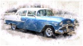 Motor Vehicle, Car, Vehicle, Chevrolet Bel Air