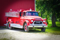 Motor Vehicle, Fire Apparatus, Transport, Truck royalty free stock image