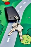 Motor Vehicle Keys Stock Photography