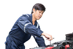 Motor vehicle mechanic Stock Image
