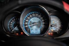 Motor vehicle speedometer car. Auto dash royalty free stock photography