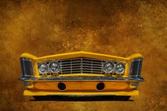 Motor Vehicle, Yellow, Car, Automotive Design royalty free stock photo